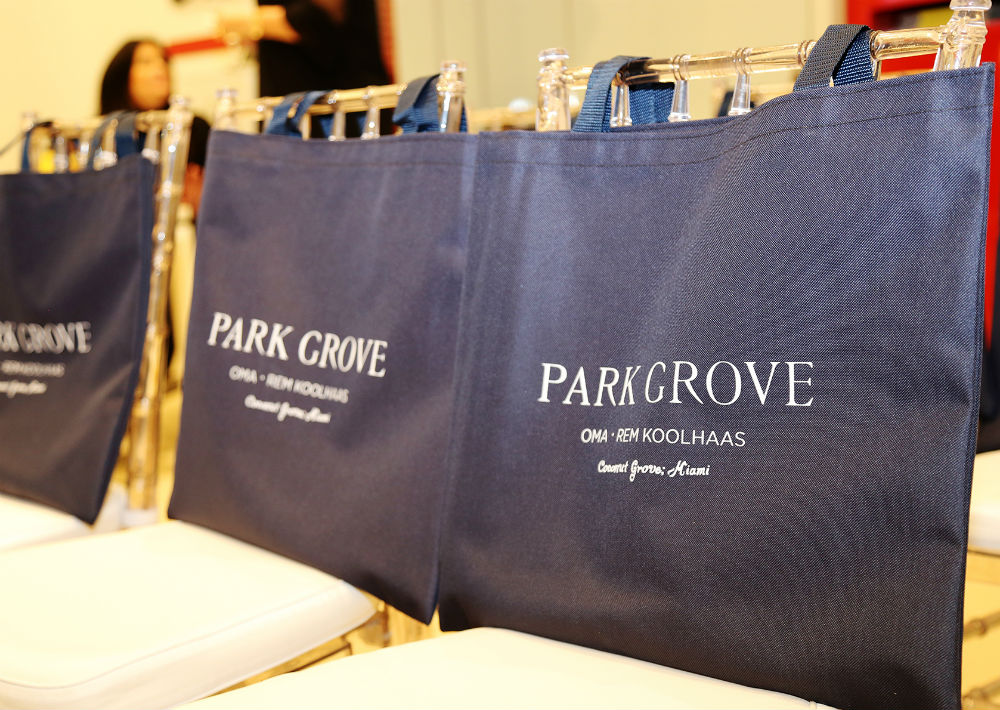 Promoción del condominio Park Grove de Miami (Foto: Nichole Saldarriaga)