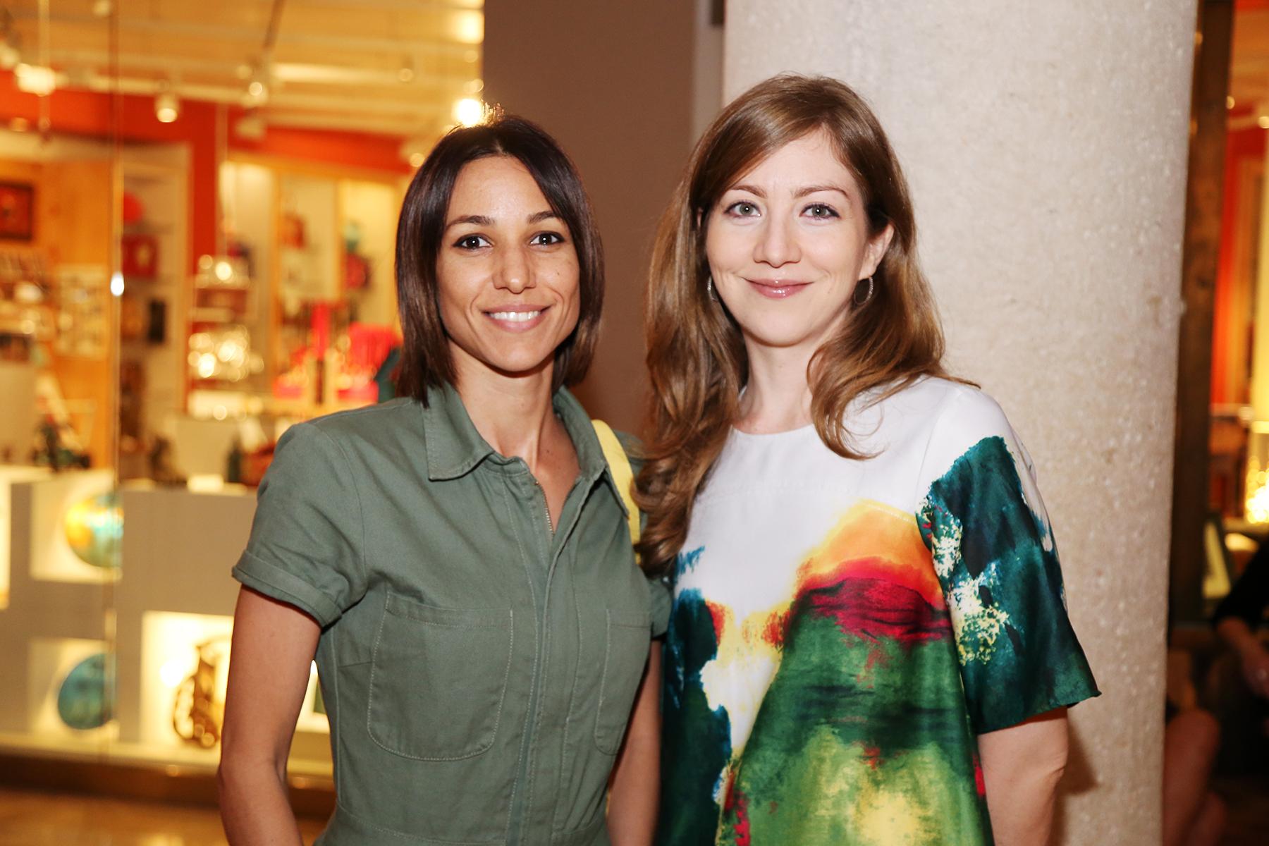 Rosalin Suero y María Rodríguez. Foto Nichole Saldarriaga
