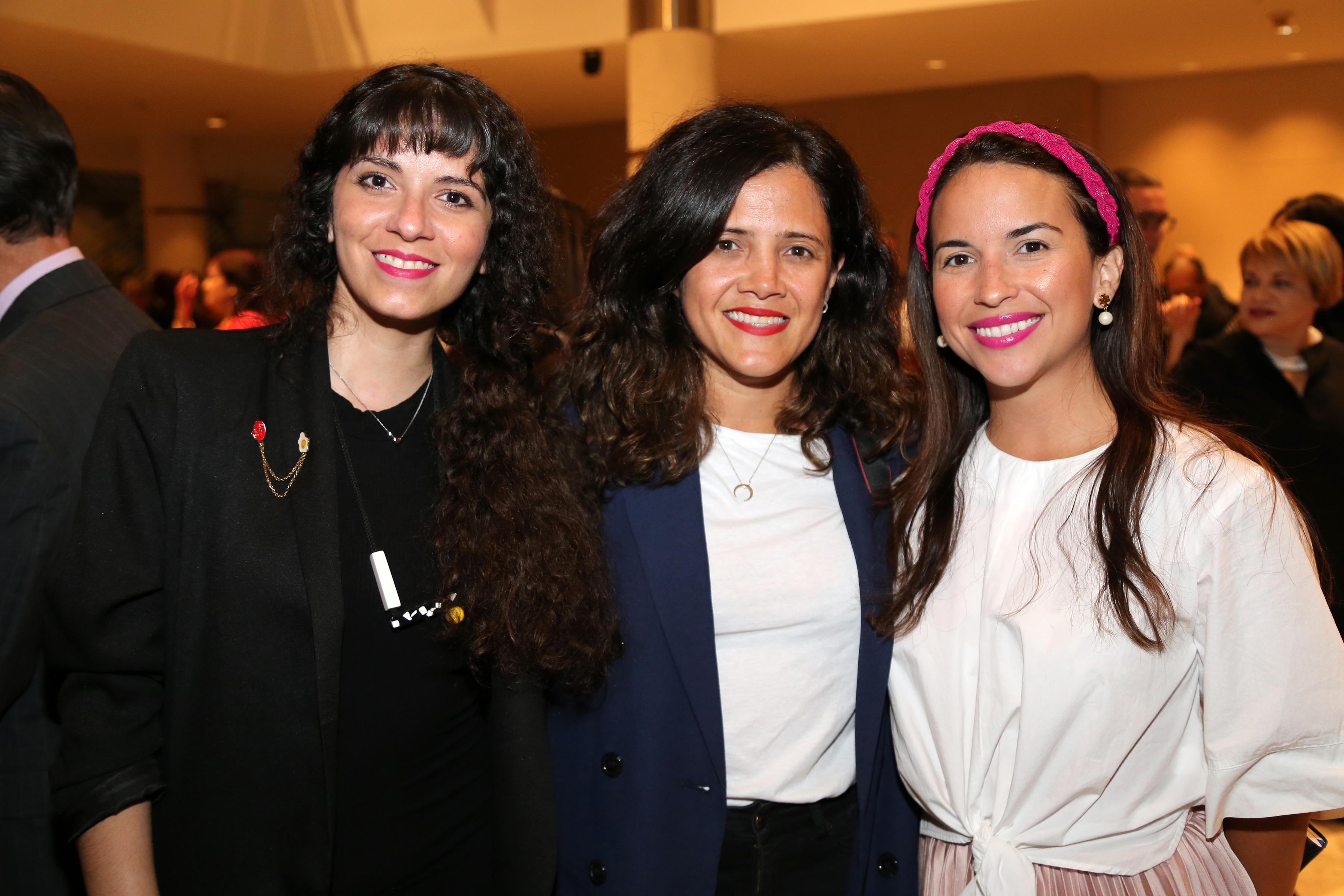 Odalis Gómez, Daliana Alvarado y Hazel Colón. Foto Nichole Saldarriaga