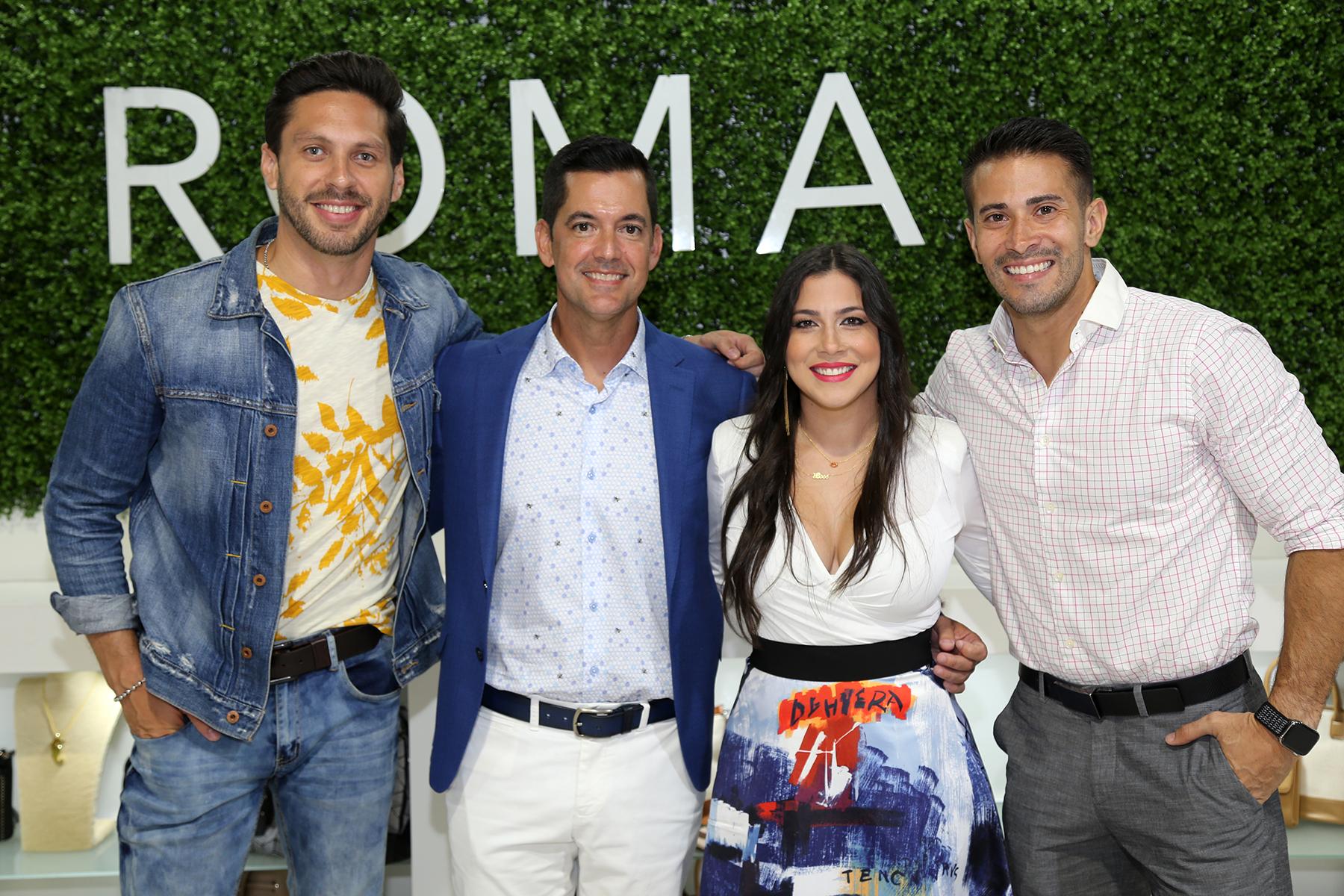 "Ramón ""Gato"" Gómez, Javier Aisa, Lourimer Rodríguez y Tommy Ramos. (Nichole Saldarriaga)"