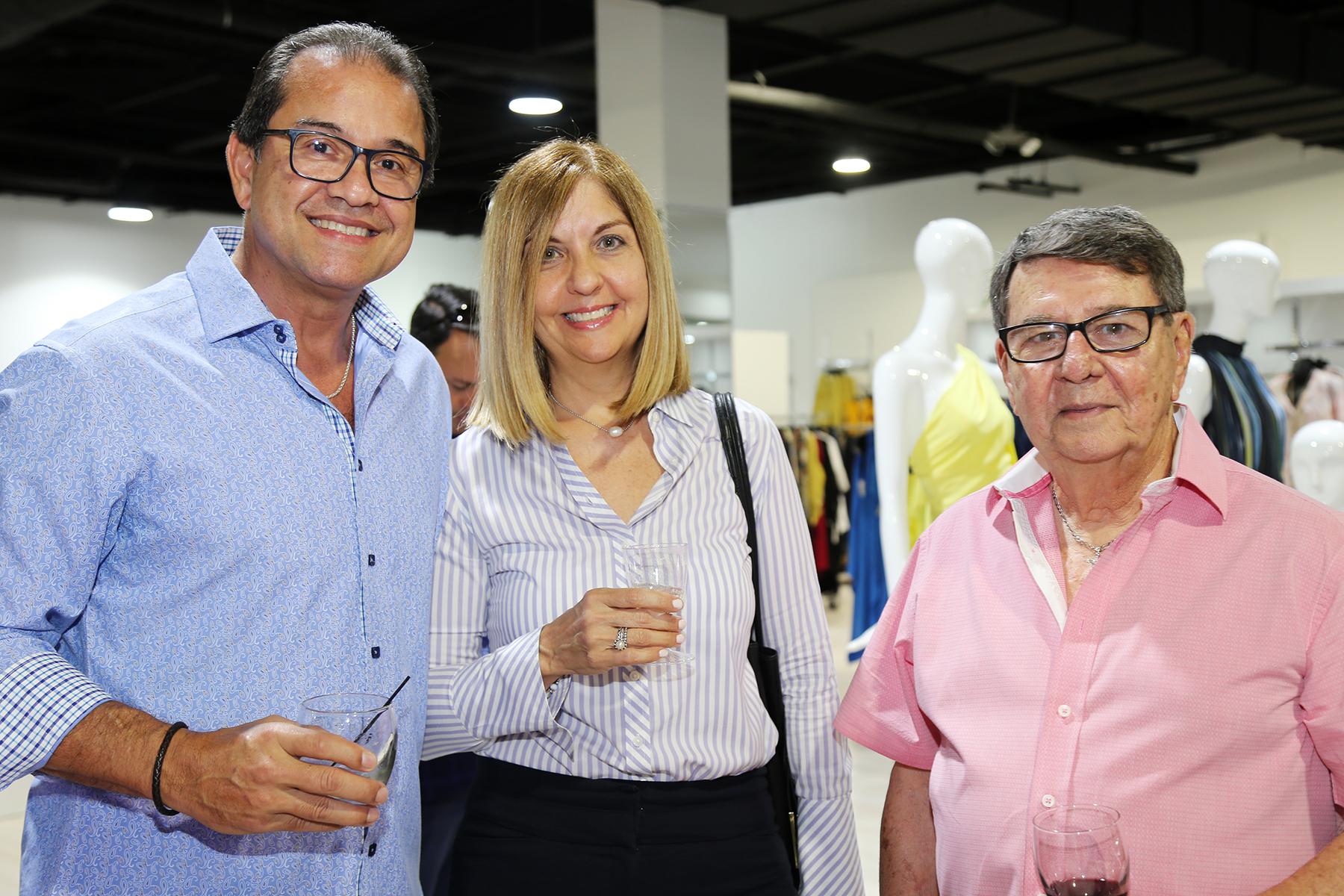 Rubén Rosario, Carmen Guillermety y Ramón Arrieta. (Nichole Saldarriaga)