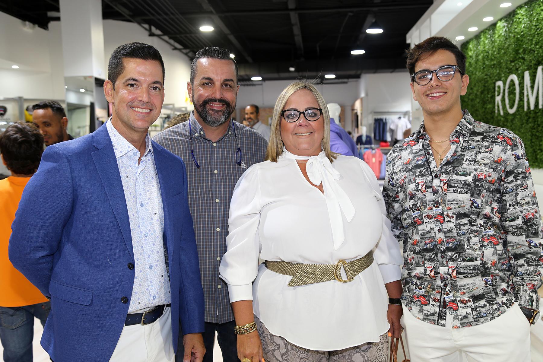 Javier Aisa, Freddie Pérez, Celimar Gotay y Diego Pérez. (Nichole Saldarriaga)