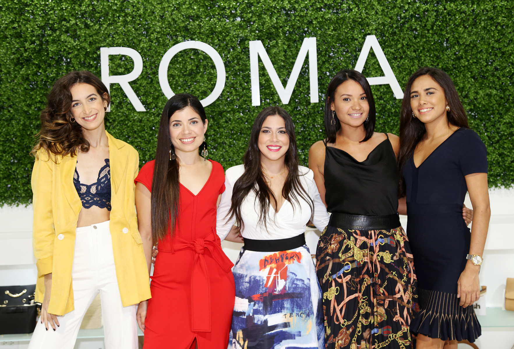 Rachel López, Karina García, Lourimer Rodríguez, Yadiza Ramos, Danaliz De Jesús. (Nichole Saldarriaga)