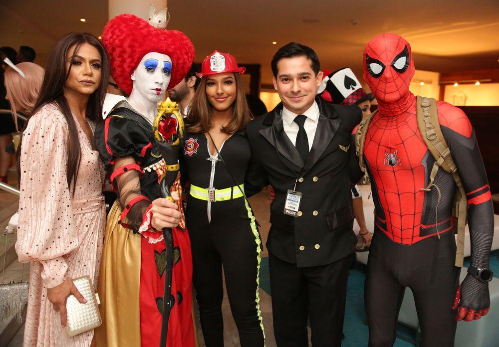 Manolo Gonzalez, Cristian Acevedo, Dayanara Martínez, Rolando Padua y Alan Padilla. Foto suministrada