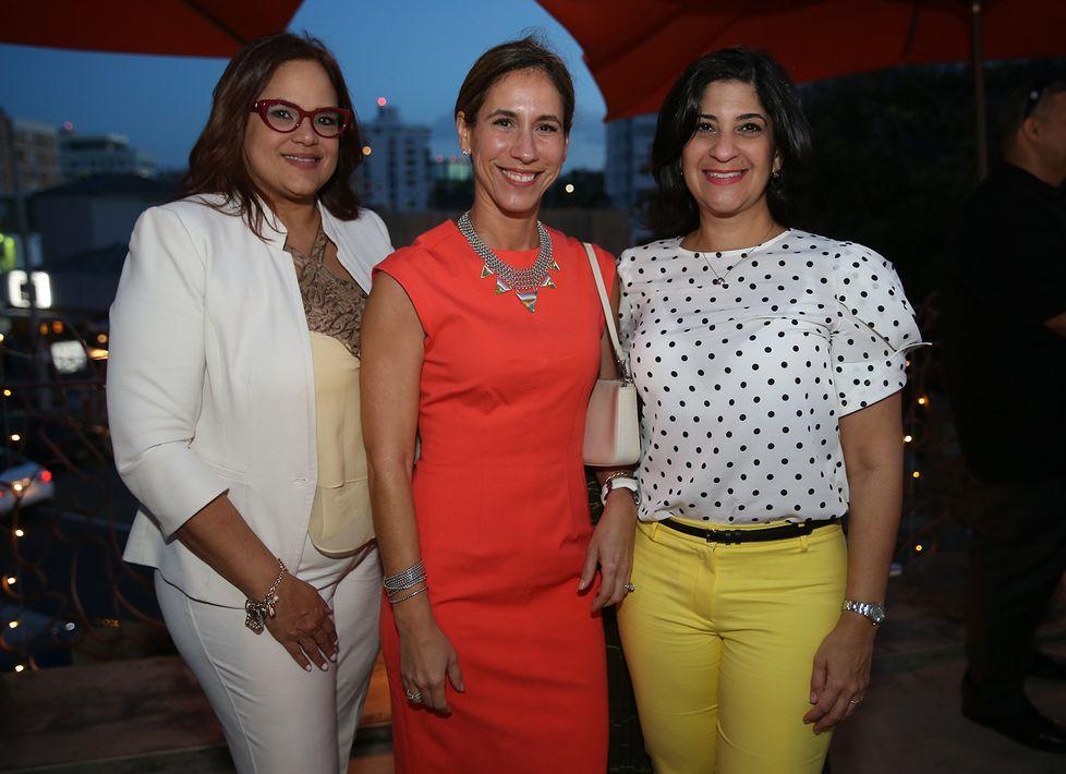 Maritza Vázquez, Lcda. Awilda M. Broco-Rodríguezy Ixel Rivera. (Foto: Suministrada)