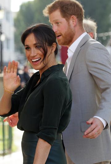 Luego de muchos rumores, el 15 de octubre de 2018, los duques de Sussex anunciaron que esperaban a su primer hijo. (Archivo)