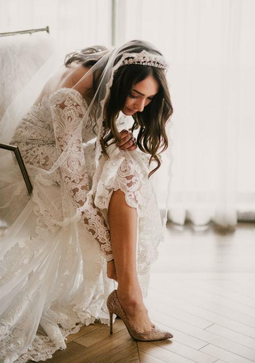 Vestido de la novia Valentini by J'aton. (Suministrada)