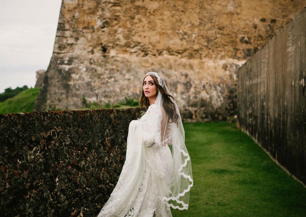 Cabello de la novia por Christopher Feliciano . (Suministrada)