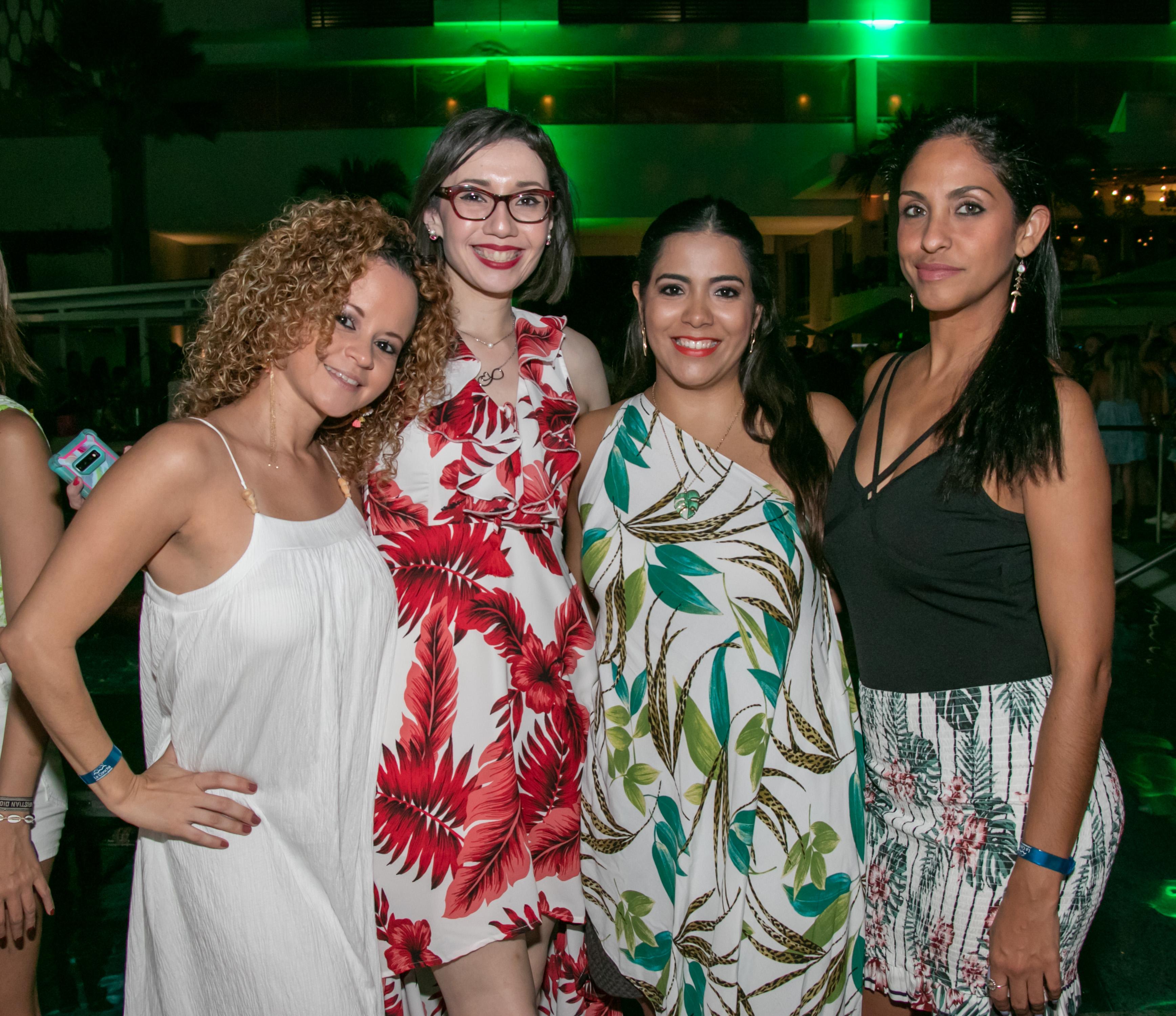 Michelle Pérez, Nidymar Boscana, Luz González y Yaly Carrasquillo. (Suministrada)