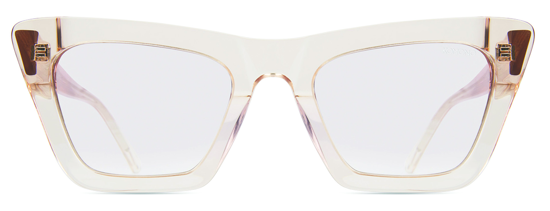 Transparente - Las gafas ópticas casi imperceptibles reflejan el estilo minimalista de la temporada. (WGSN)