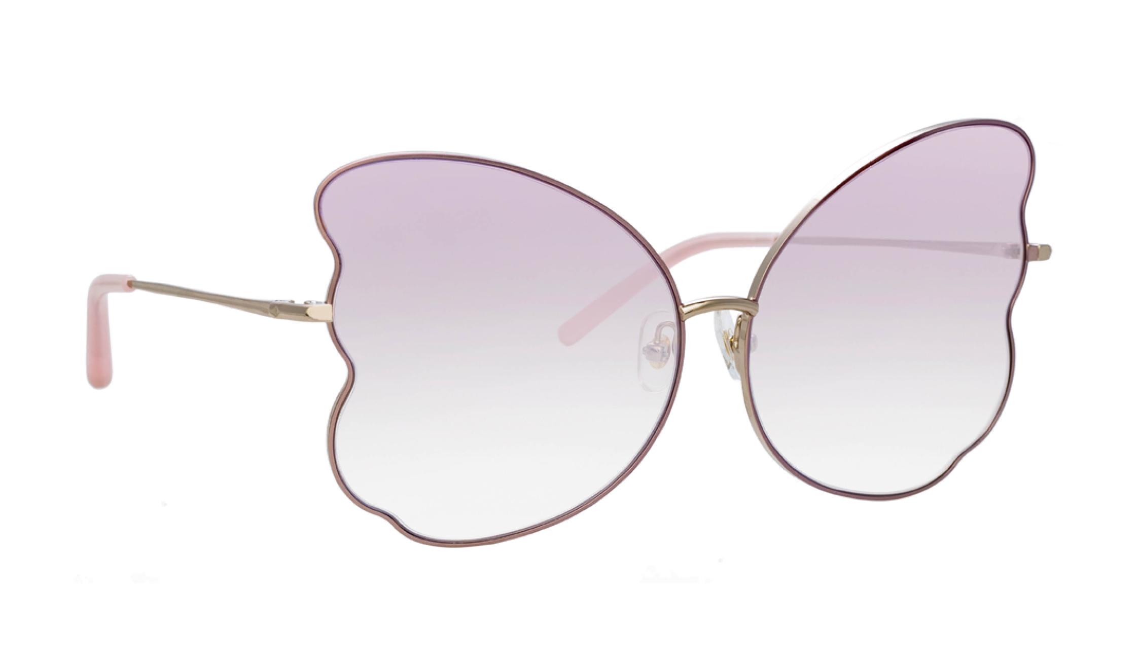 Metal - Las lentes recortadas y las monturas dobles u onduladas añaden interés de moda. Opta por lentes tintadas para sumar color. (WGSN)