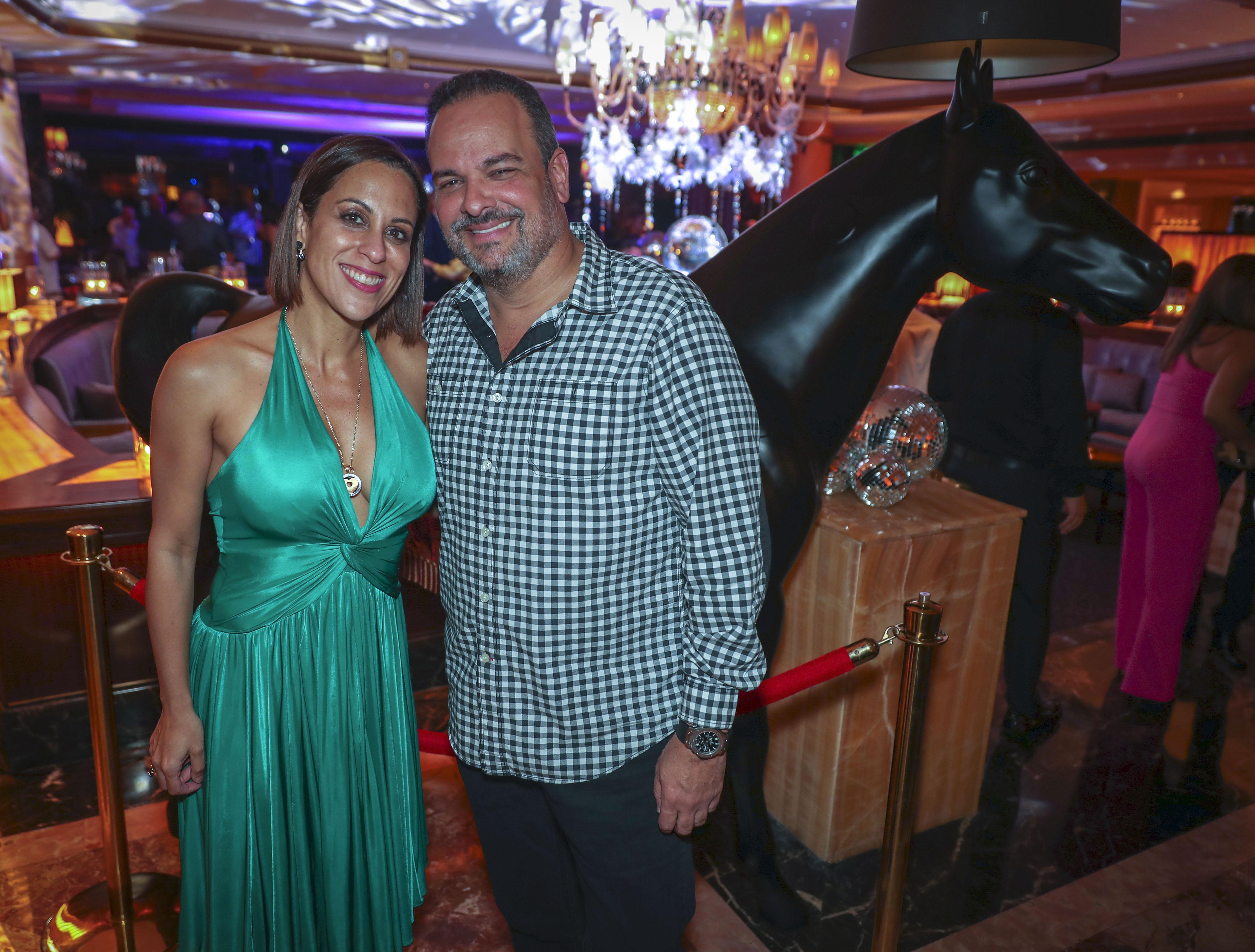 Miguel Mocoroa y Fabiola Ansotegui. (Suministrada)