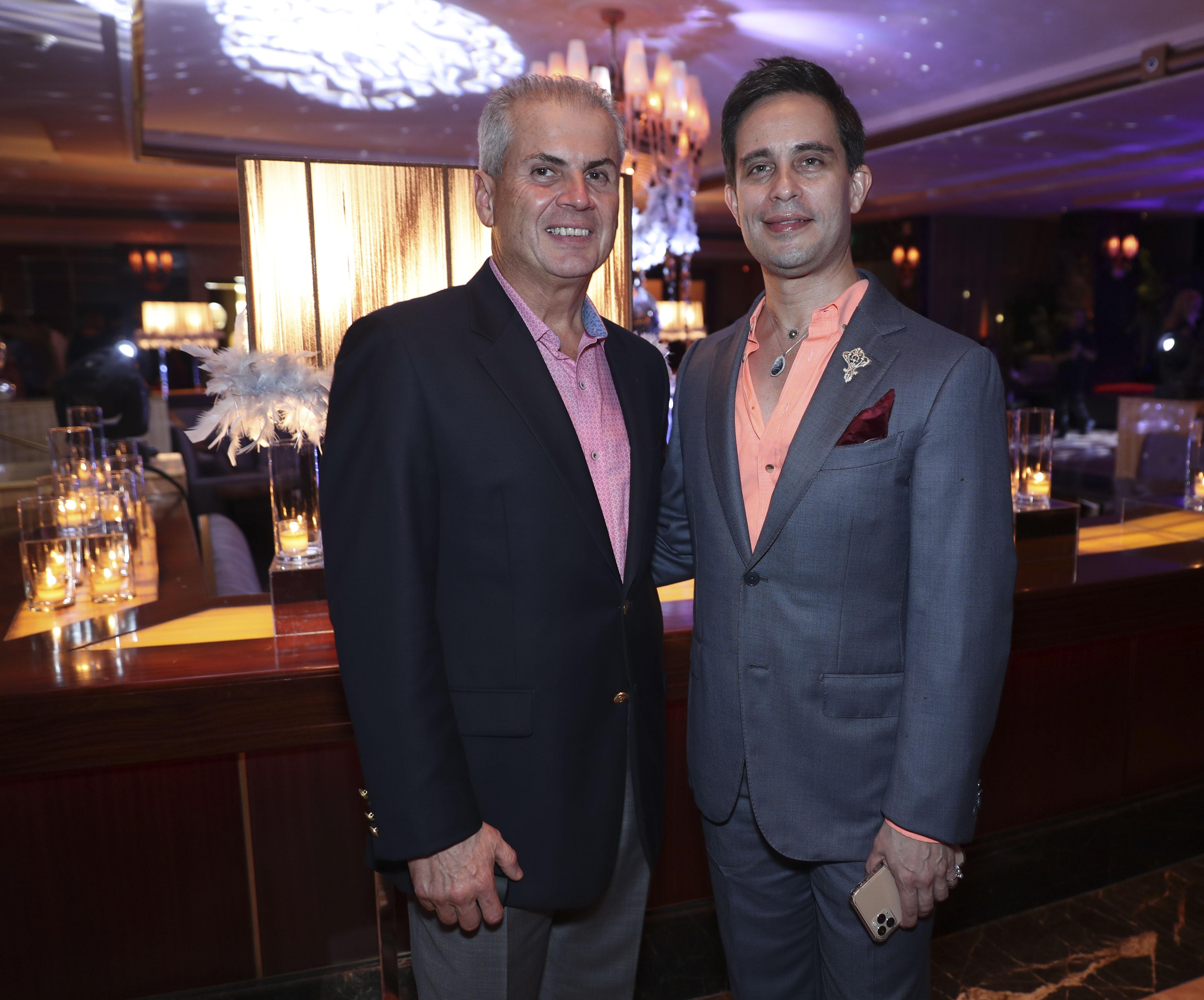 Mike Rivera y Eugenio Latimer. (Suministrada)