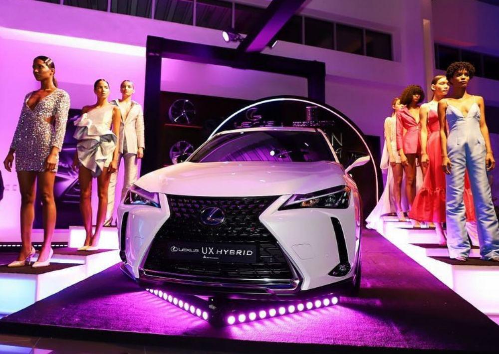 Cintrón se alió con Lexus Dominicana y la influencer Helen Blandido para debutar por todo lo alto en hermano país. (Foto: Suministrada)