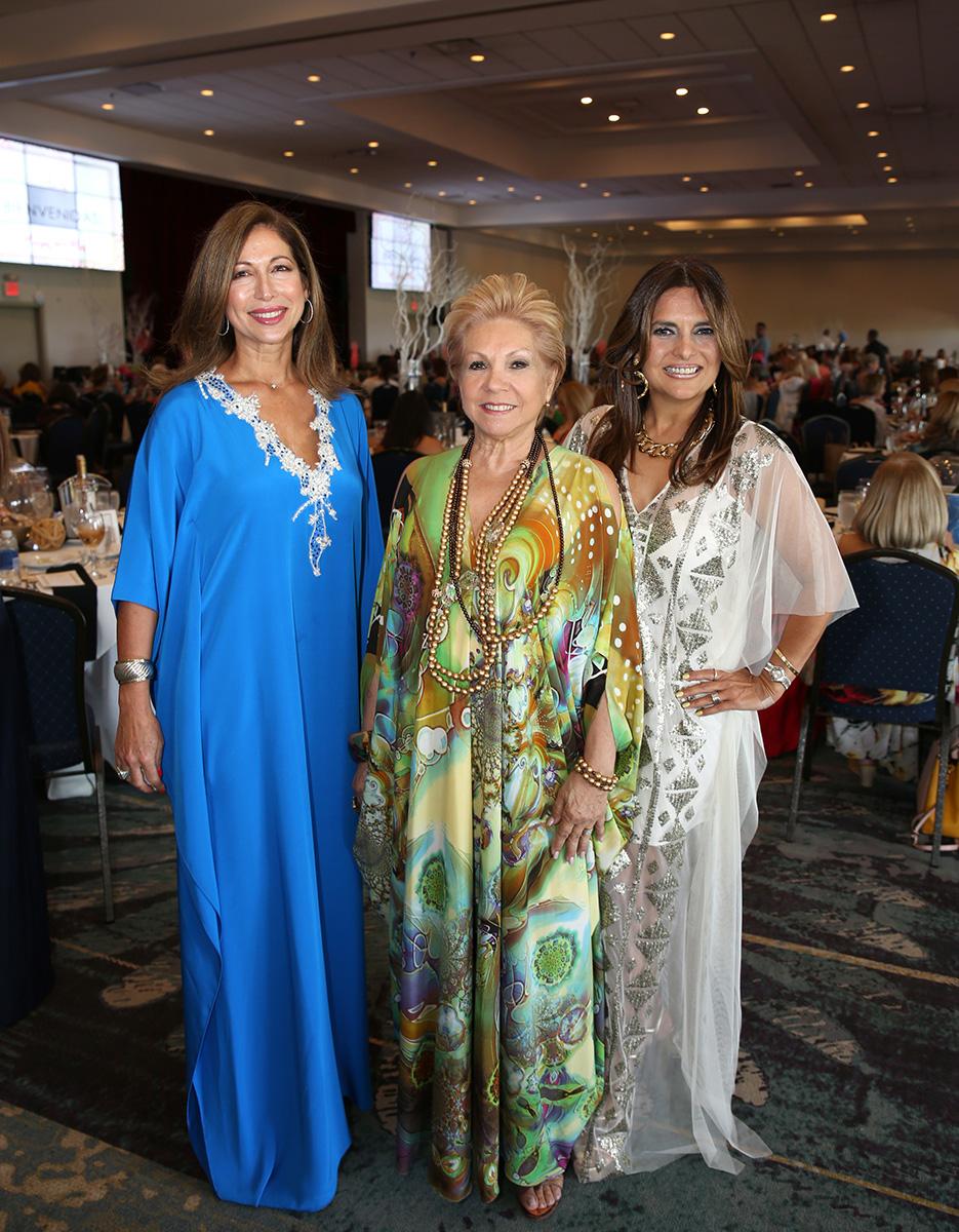 Natty Tomei, Aida Gnocchi y Natalia Casals. Fotos José Rafael Pérez Centeno