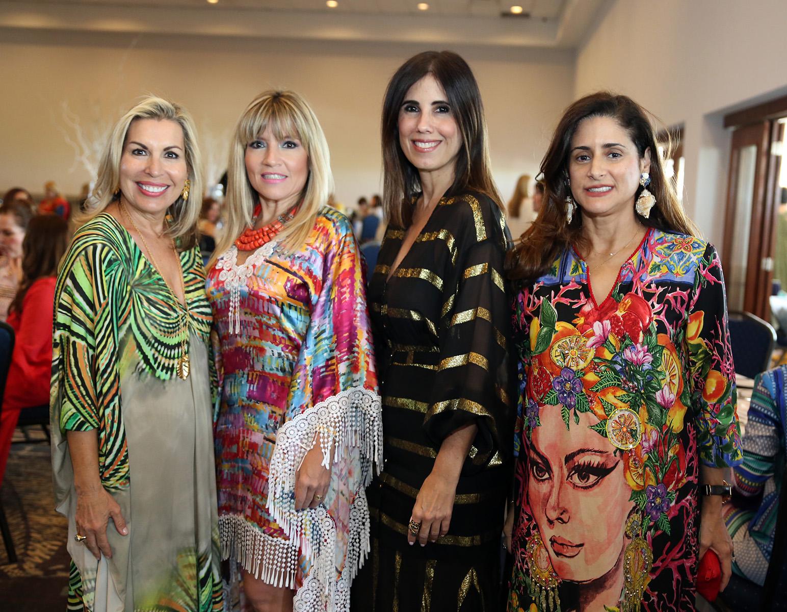Gabriela Ballester, Mari Carmen Aguayo, Ana Casas y Maresa del Toro. Fotos José Rafael Pérez Centeno