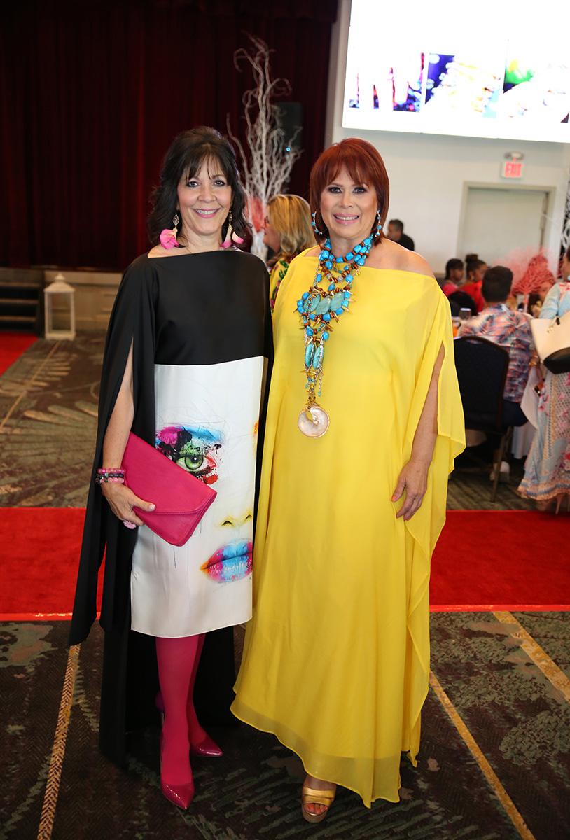 Vanessa Taule y Norma Piñero. Fotos José Rafael Pérez Centeno