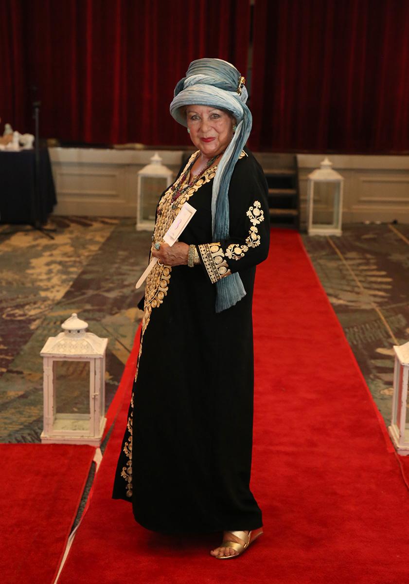 Una de las asistentes que participó de la competencia de caftanes. Fotos José Rafael Pérez Centeno