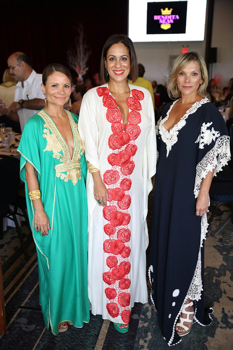 Zaymara Rivera, Fabiola Ansótegui y Maypi Rodríguez. Fotos José Rafael Pérez Centeno