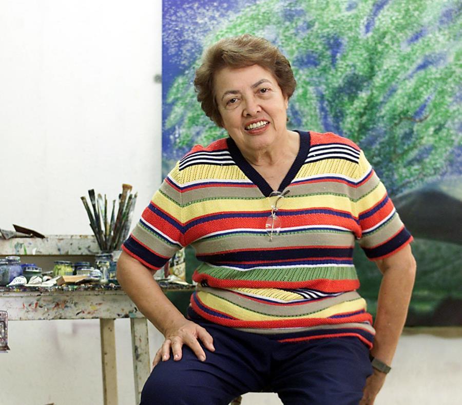 Myrna Baez (1931-2018): grabadora, pintora y escultora, pionera de las artes gráficas. (Archivo)