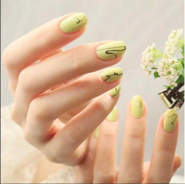 El verde lima, un color que se impone.