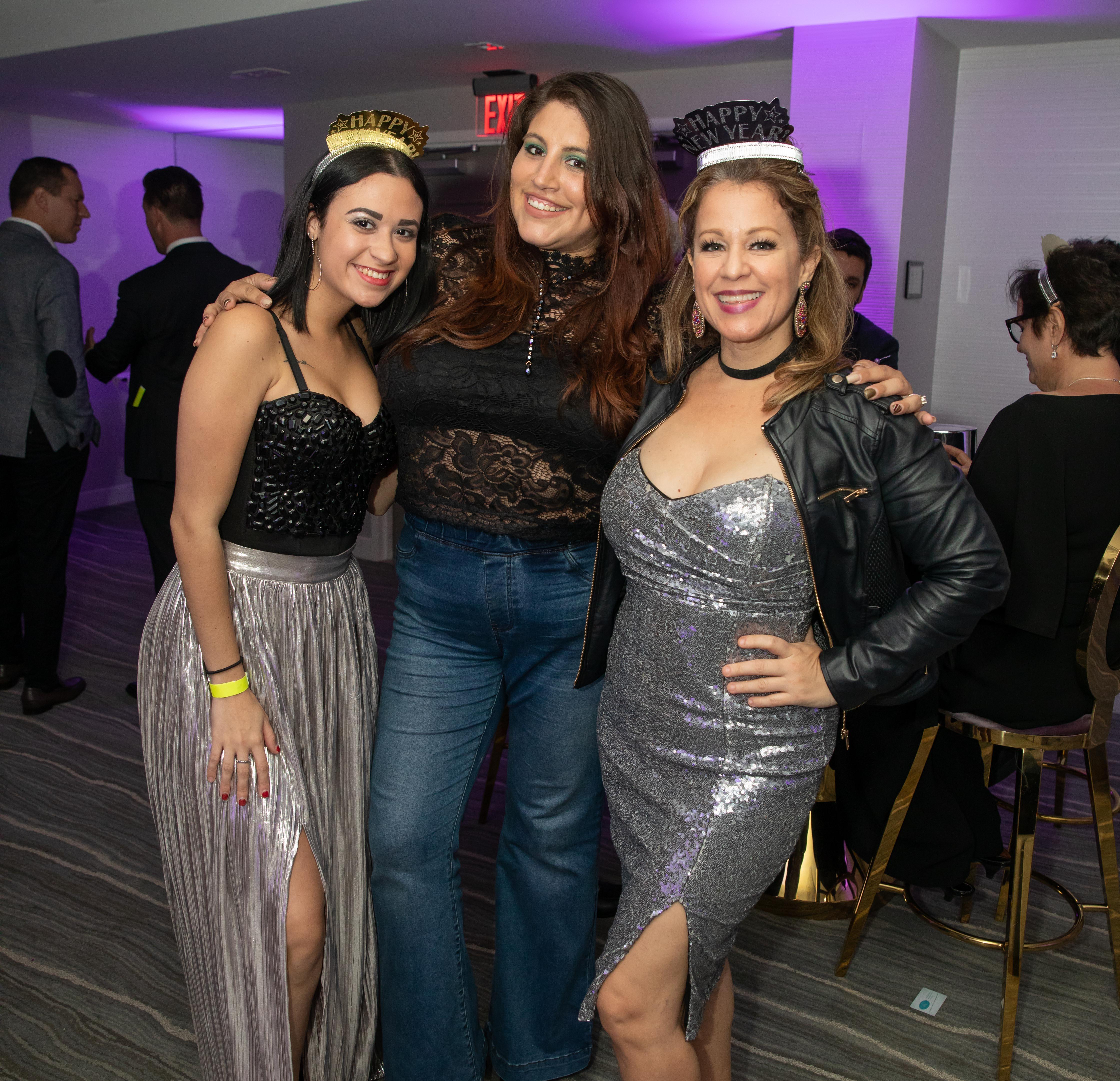 Natalie Abreu, Staphanie Laboy y Melisa Meléndez. (Suministrada)