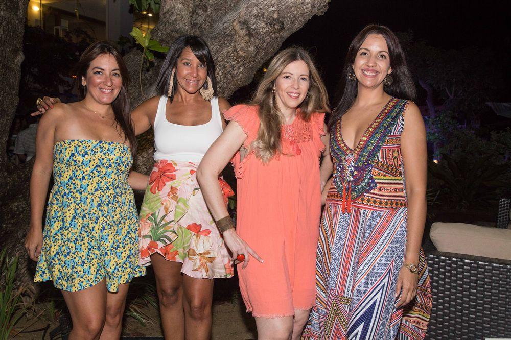 Nathalie Morales, Maite Ralat, Liamara Álvarez y Cristina Alicea. (Foto: Suministrada)