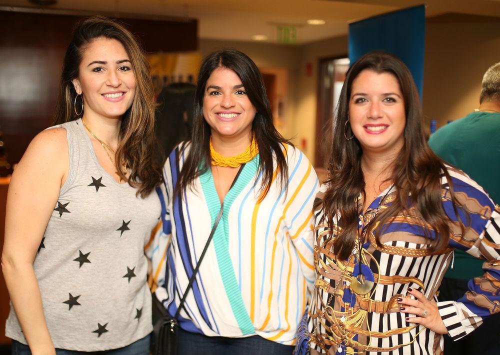 Cristina Ríos, Michelle Rodríguez y Alexandra Márquez. (Foto: José R. Pérez Centeno)