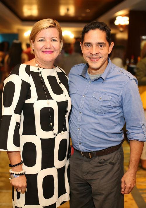 Niurka Vélez y Manuel Benítez. (Foto: José R. Pérez Centeno)