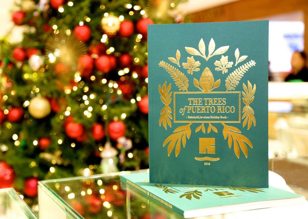 Portada del libro, disponible disponible  en  Reinhold  Plaza  Las  Américas  y  Plaza  Del  Caribe  durante  la  época  navideña. (Foto Suministrada)