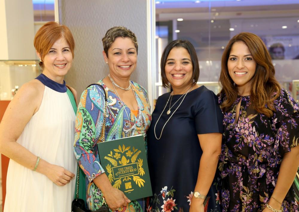Ingrid Fúster, Marie Espiet, Yariza Torres y Mildred Marcano. (Foto Suministrada)