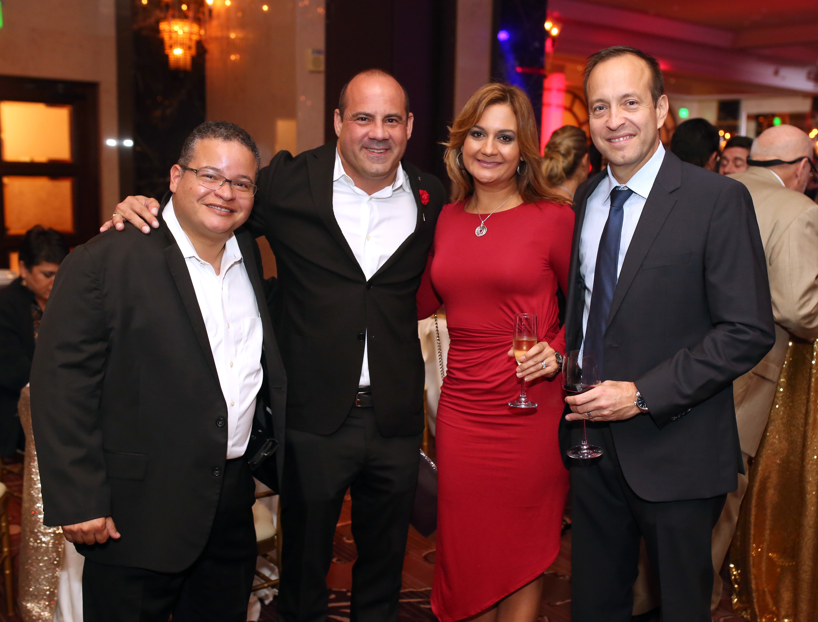 Víctor Ramos, Javier Cuevas, Michelle González, Michael Hernández. Foto: José R. Pérez Centeno.