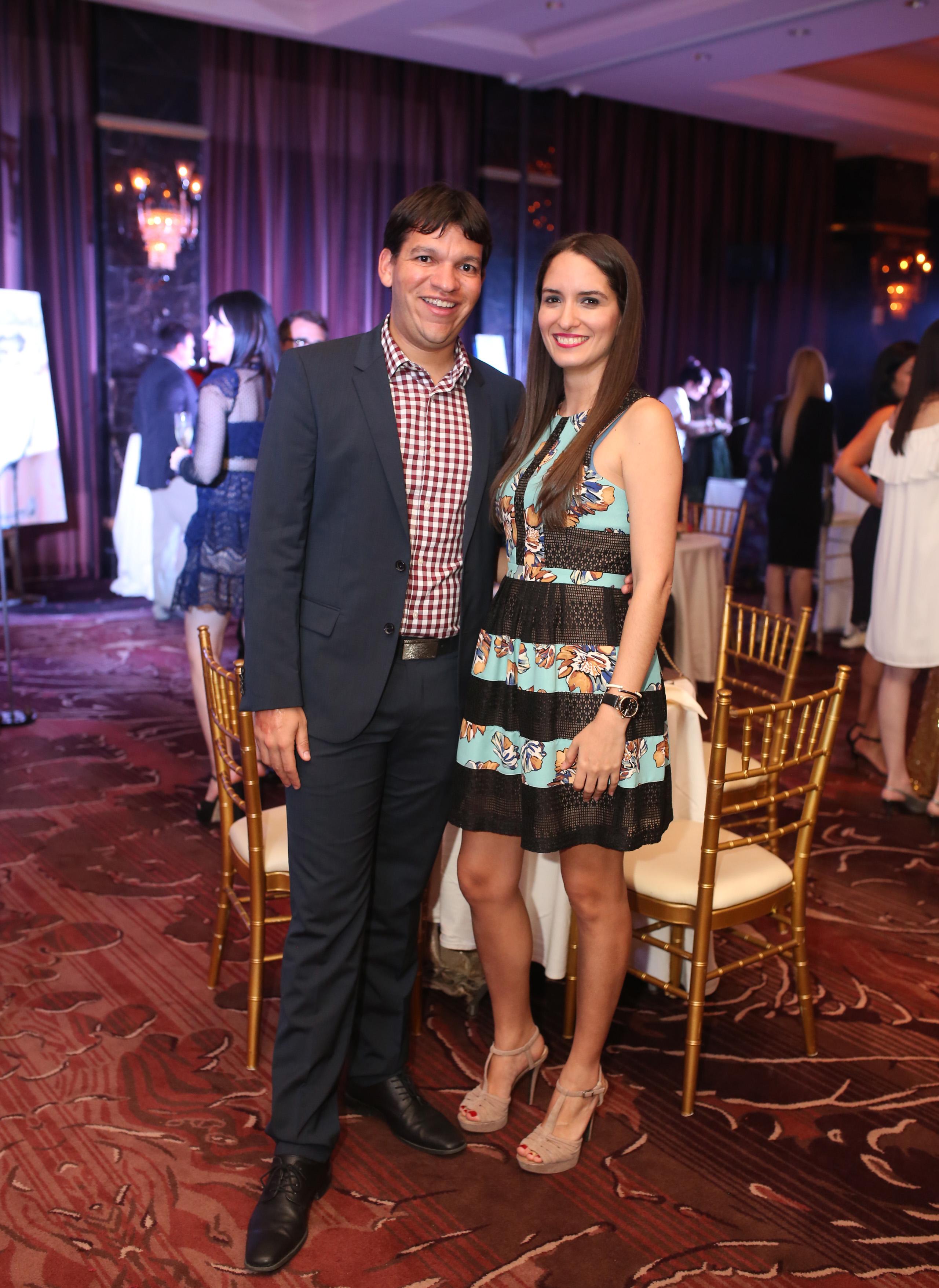 Said Ortiz y Michelle Bartolomei. Foto: José R. Pérez Centeno.