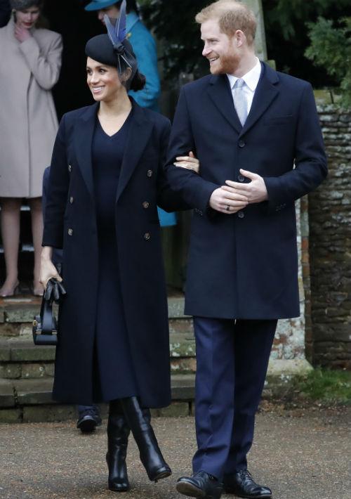 Markle y el príncipe Harry serán padres en la primavera de 2019. (AP)