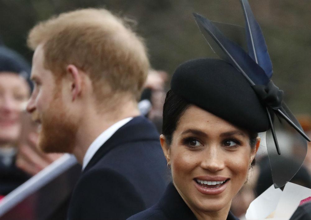 Los duques se casaron en mayo de 2018. (AP)
