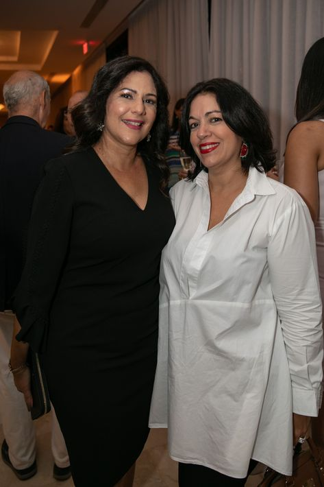 Nereida Amador y Terestella Gonzalez. Foto suministrada