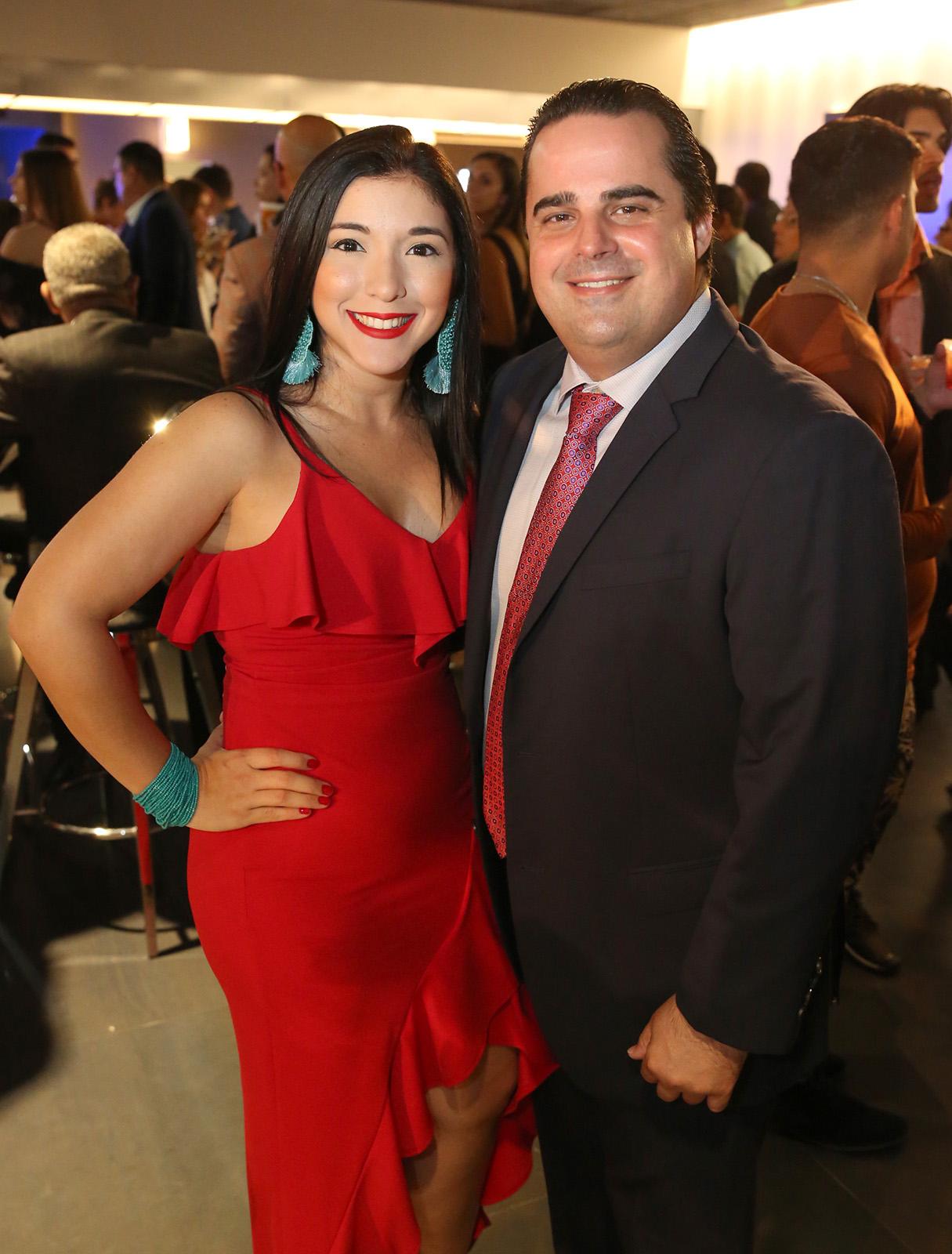 Patricia Sánchez y José Luis Aponte.  (José R. Pérez Centeno)