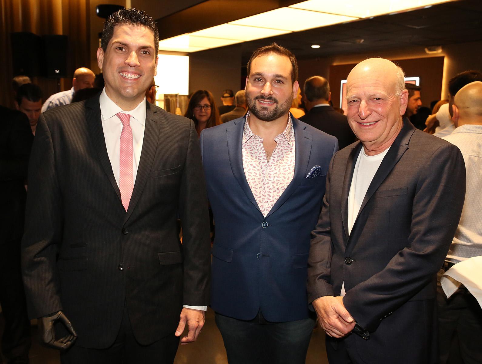 Pedro Rúa, Andrés Ramírez de Arellano y Robert Carrady.  (José R. Pérez Centeno)