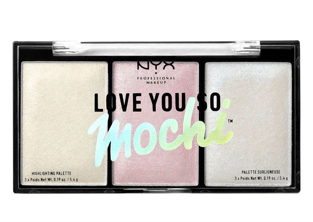 NYX Professional Makeup Love You So Mochi Highlighting Palette. (Foto: Suministrada)