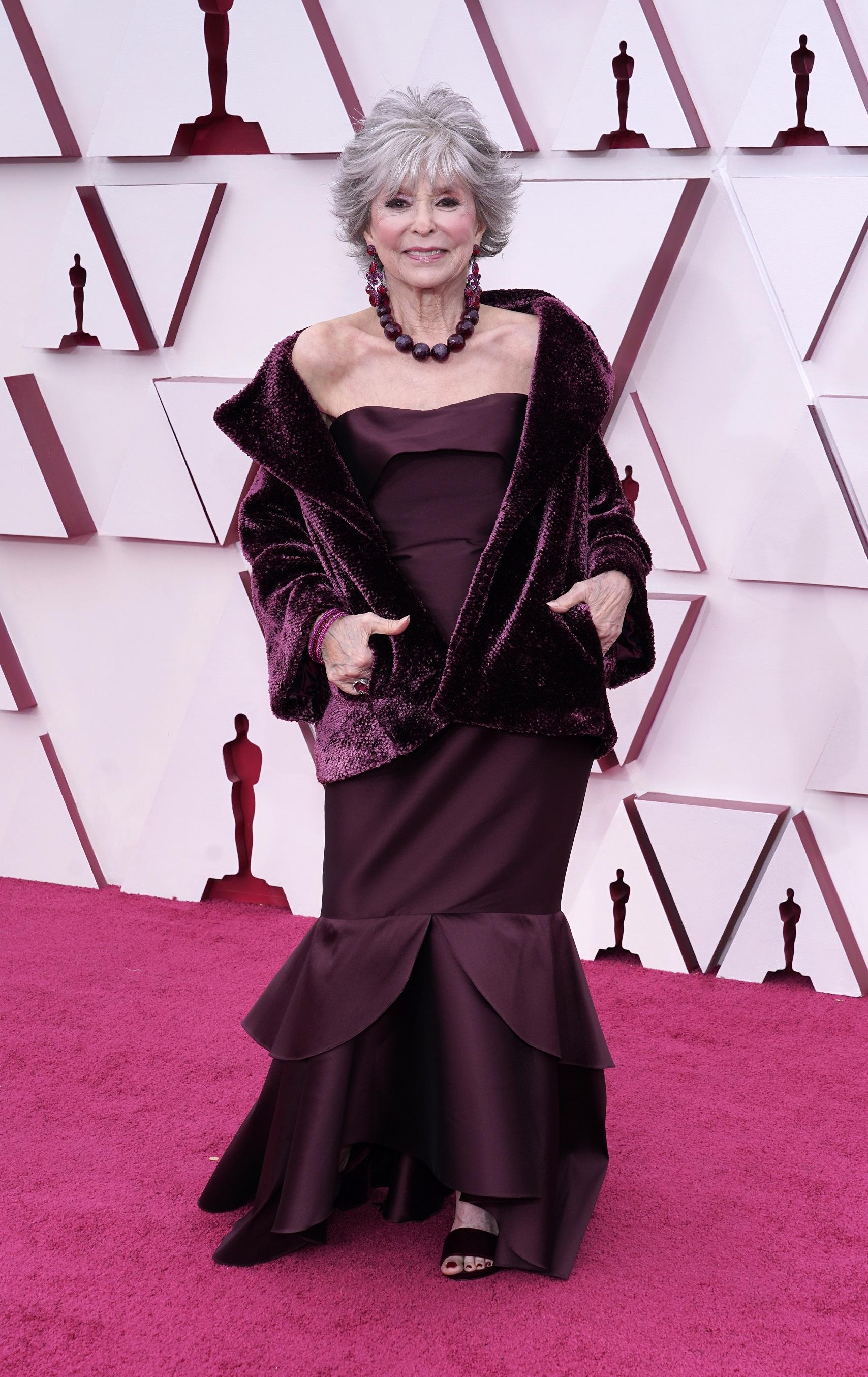La actriz puertorriqueña Rita Moreno. (AP)