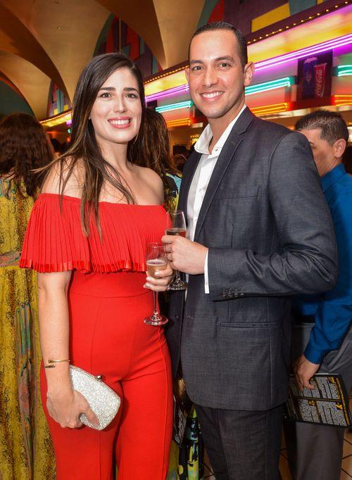 Cristina Colón y Luis Miguel Silva. (Foto: Enid M. Salgado Mercado).