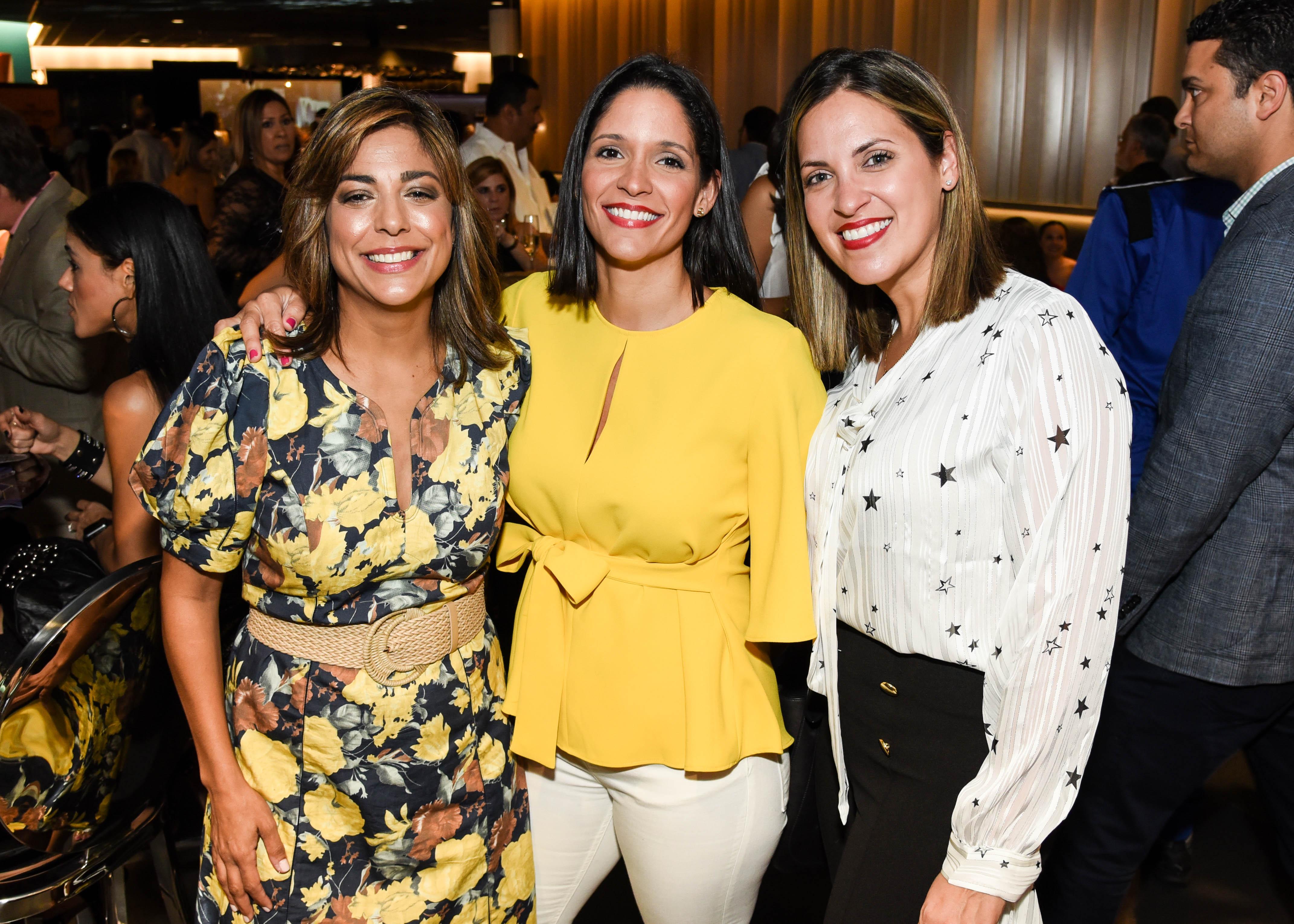 Maria Eugenia Soto, Mayra Rodríguez y Tere Beyley. (Enid M. Salgado)