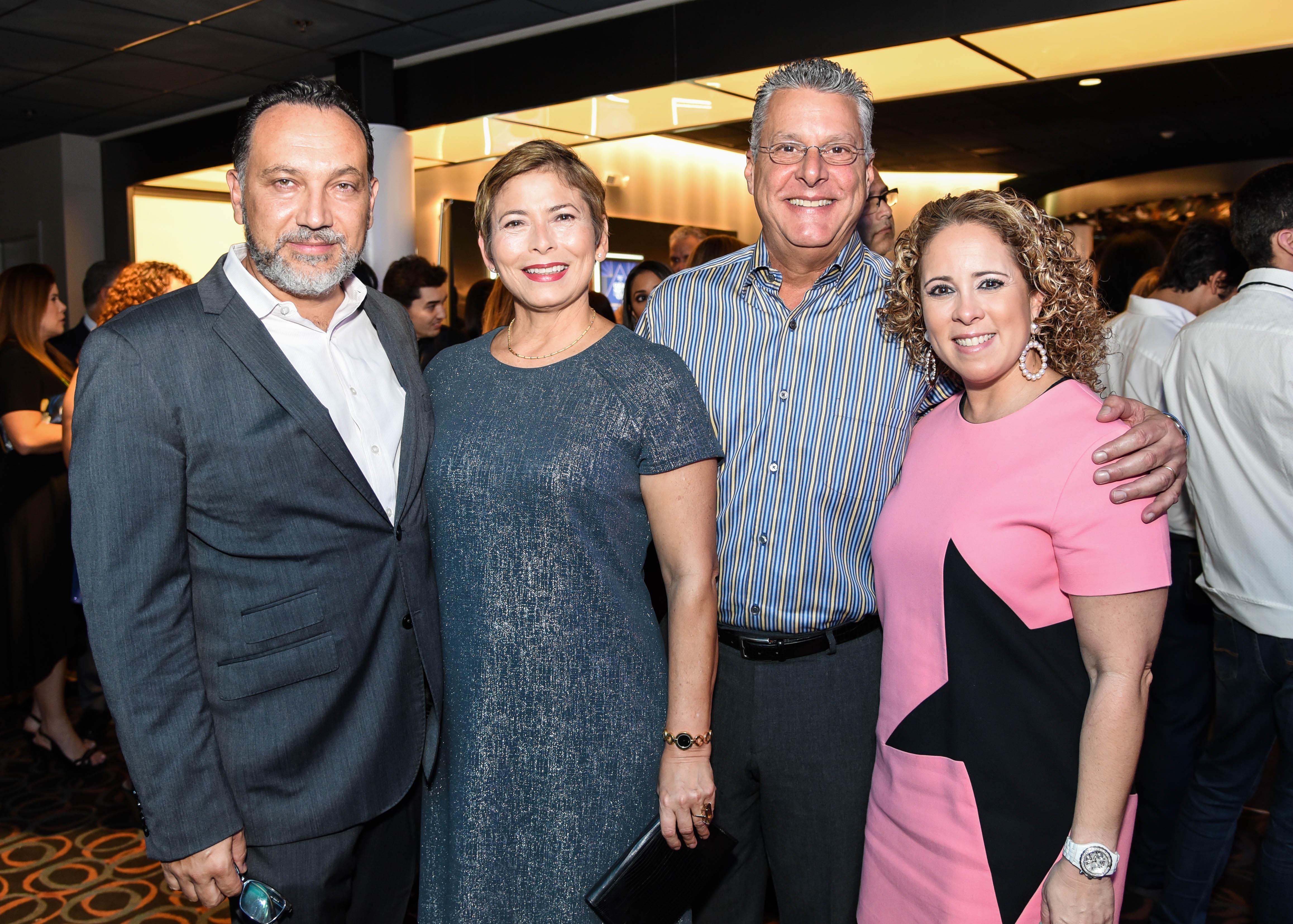 José González, Soraya González, Manuel Albilleira y Ana Maria Abilleira. (Enid M. Salgado)