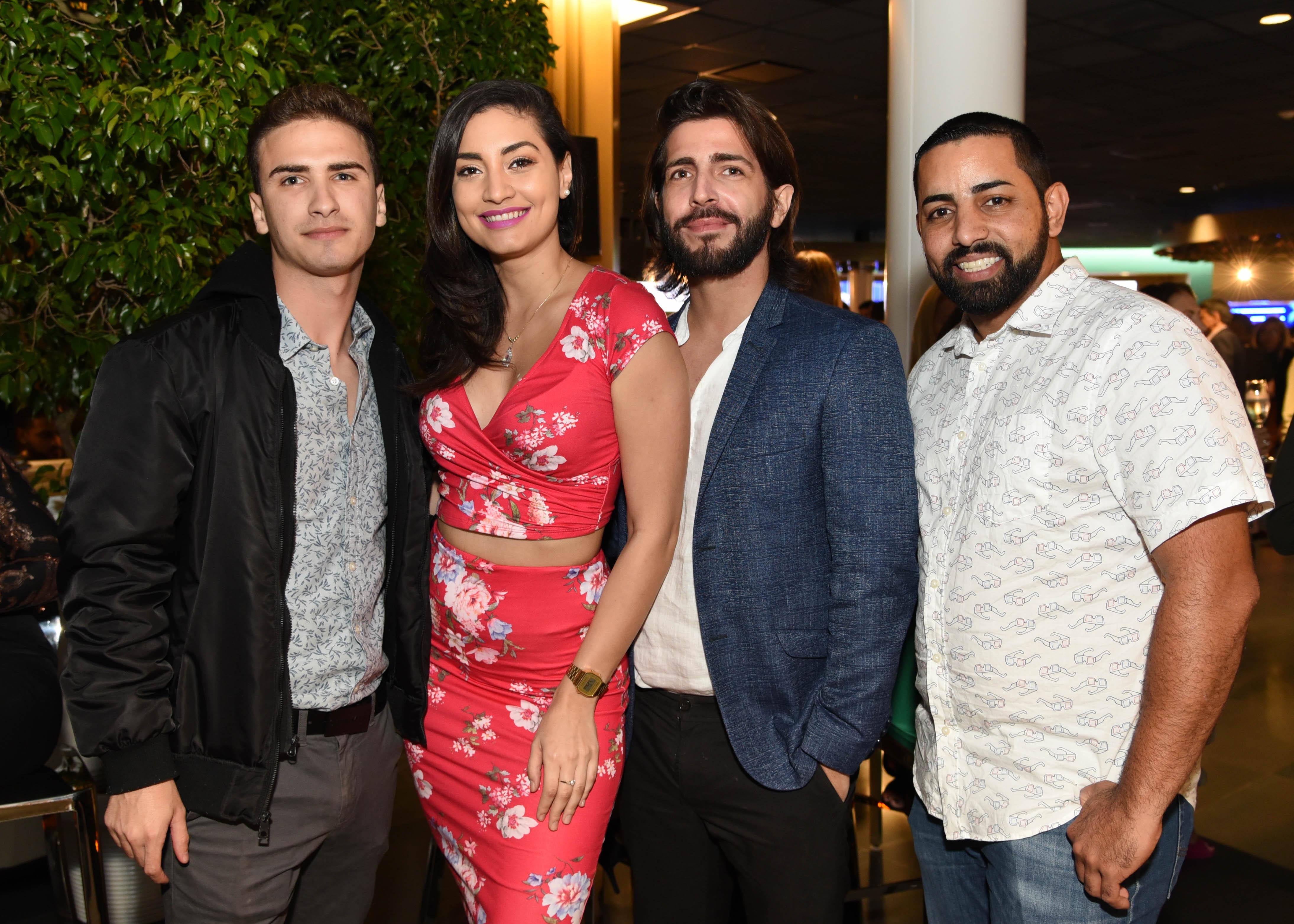 Javier Zayas, Nicole De Jesús, Fernando Cruz y Samuel Hernández. (Enid M. Salgado)