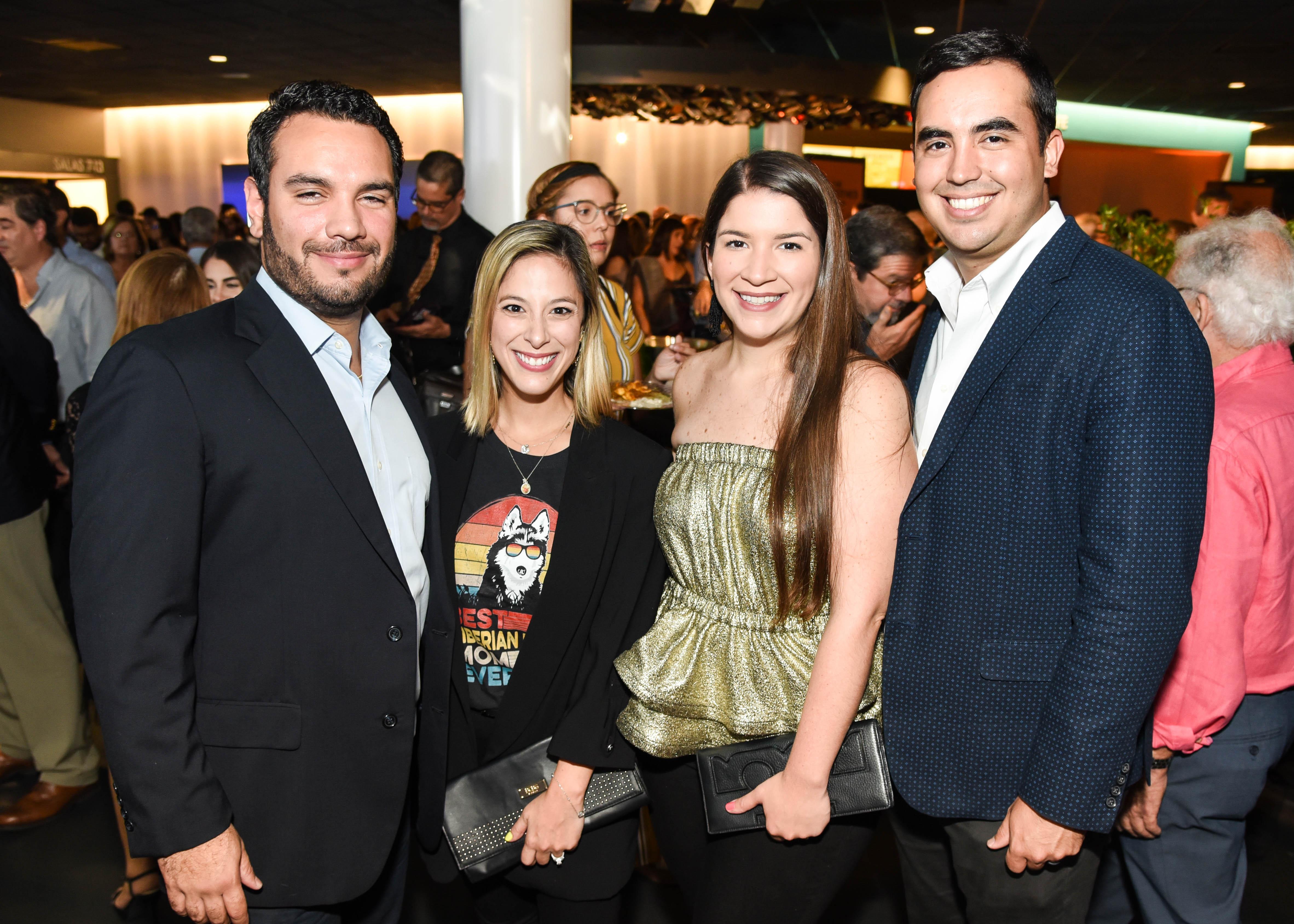 Ricardo Pabón, Viviana Ali, Sofia Saavedra y Juan Rosado. (Enid M. Salgado)
