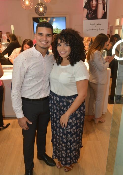 Ricardo La Santa y Vimarie Santiago. (Enid M. Salgado Mercado)