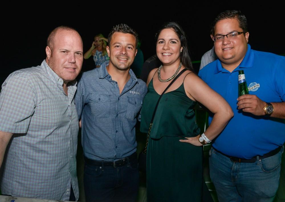 William Almodóvar, Eric Freytes, Mari Martínez, y Manuel Rodríguez. (Enid M. Salgado)