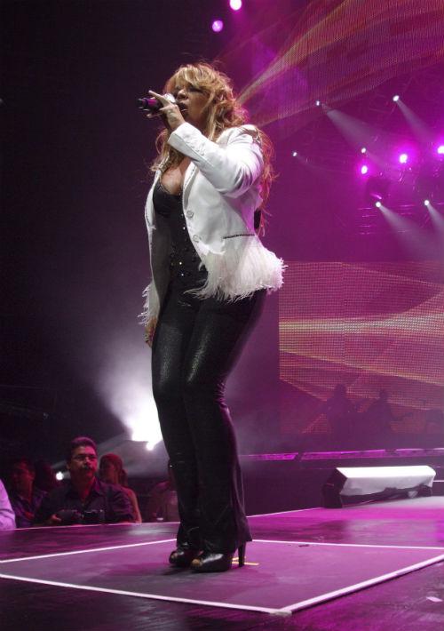 El pantalón de cuero también es una de las piezas emblemáticas de Ednita durante sus conciertos. (Foto: Archivo/ GFR Media)
