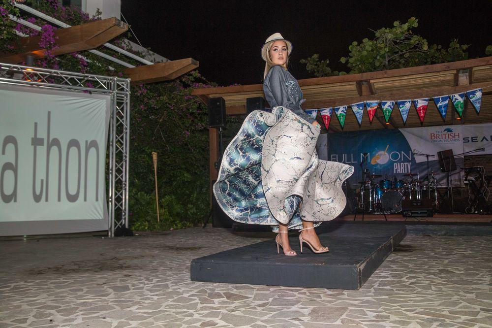 Se presentó un pase de modas de la diseñadora puertorriqueña Lisa Thon. (Foto: Suministrada)