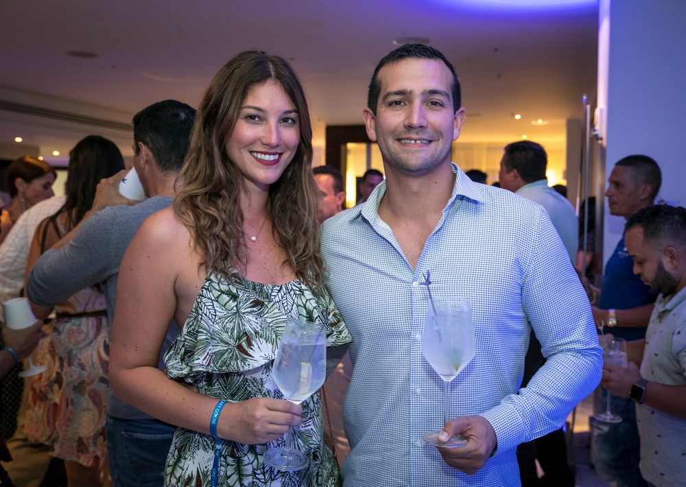 Patricia Quiñonez y Guillermo Abril. (Suministrada)